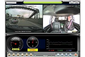 Digital video, audio och data recorder